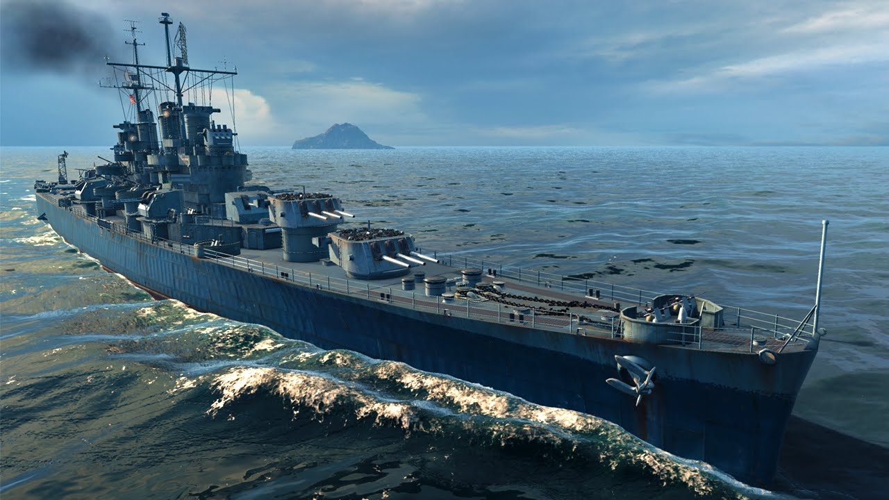 Cl Des Moines >> World of Warships - Cleveland Blues