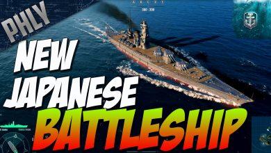 World Of Warships New Battleship Izumo Yamato Gameplay