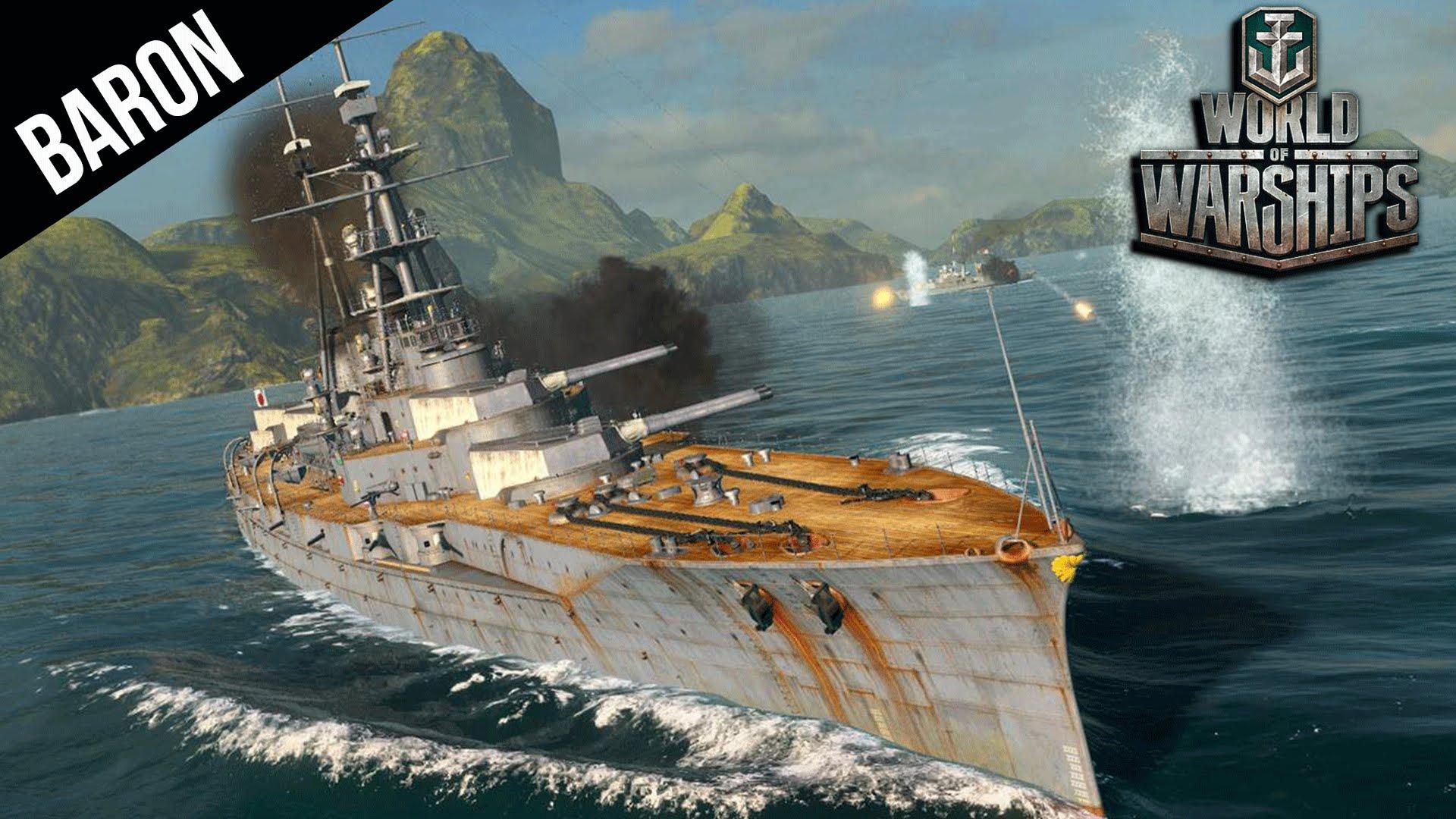 World of Warships Premium NEW Japanese Battleship, The Ishizuki!