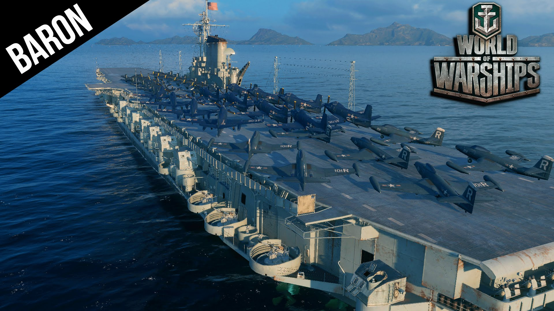 world of warships midway class carrier