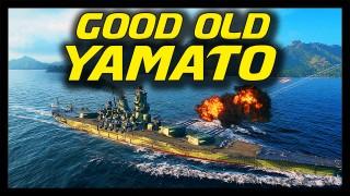 World Of Warships Yamato Gameplay