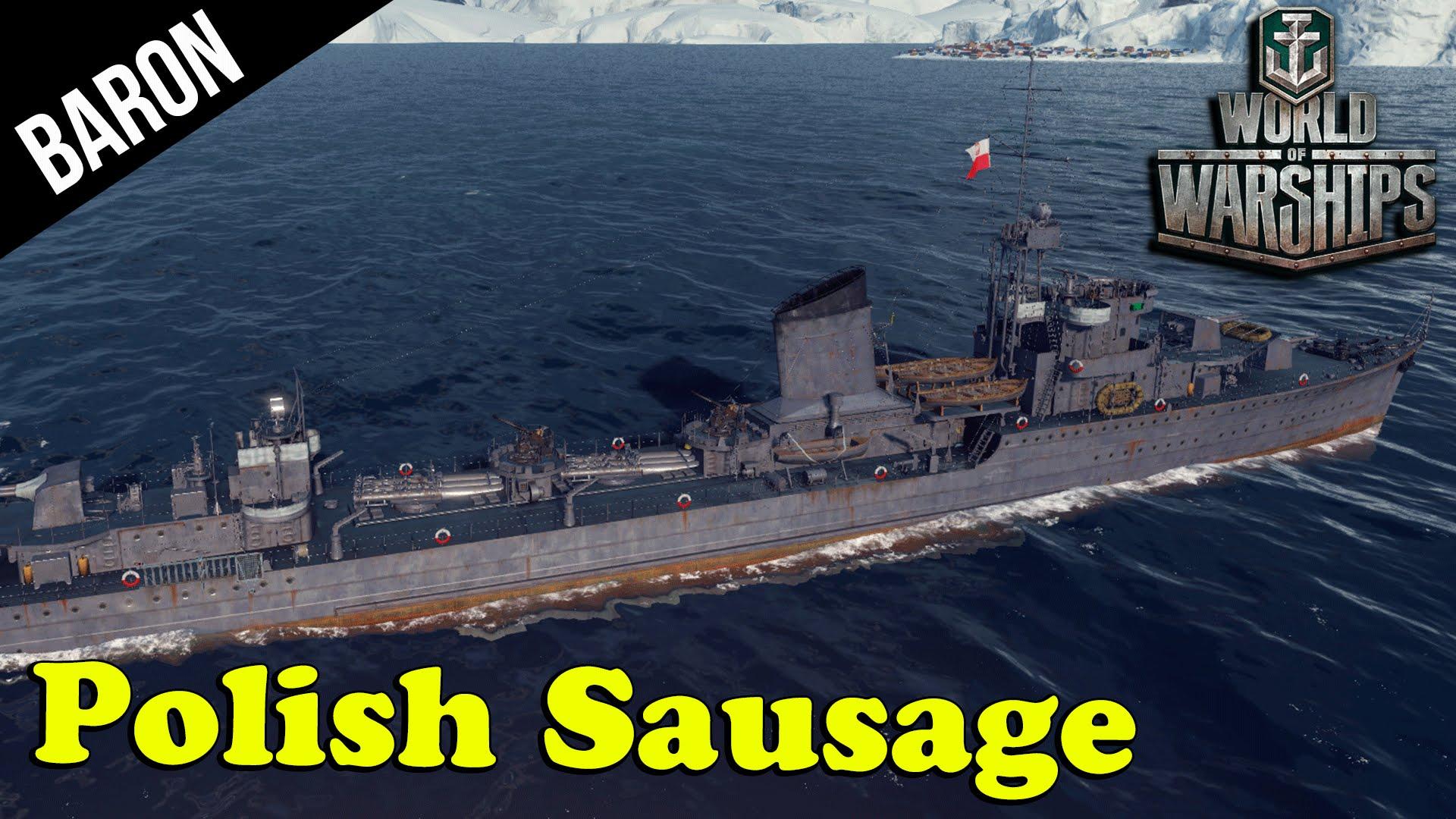 World of Warships Polish Navy - Błyskawica Destroyer!