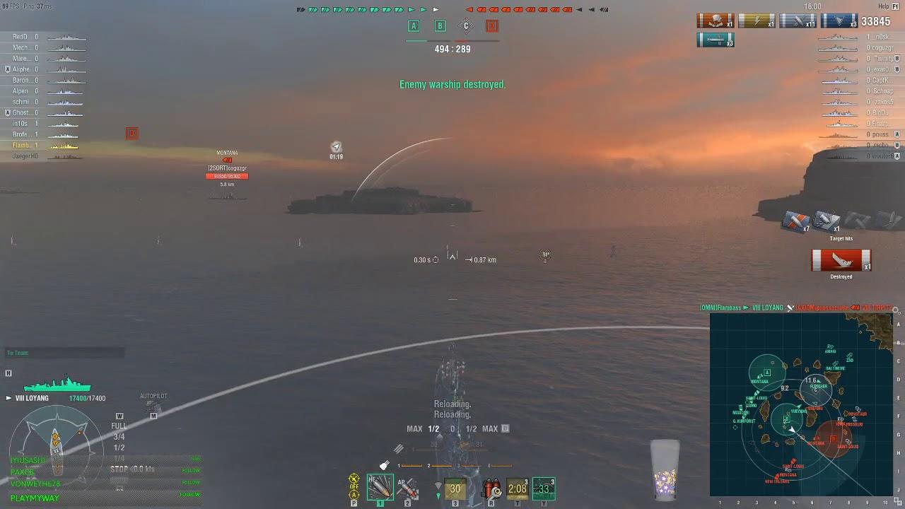 lo yang world of warships