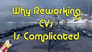 why reworking cvs in world of warships is complicated
