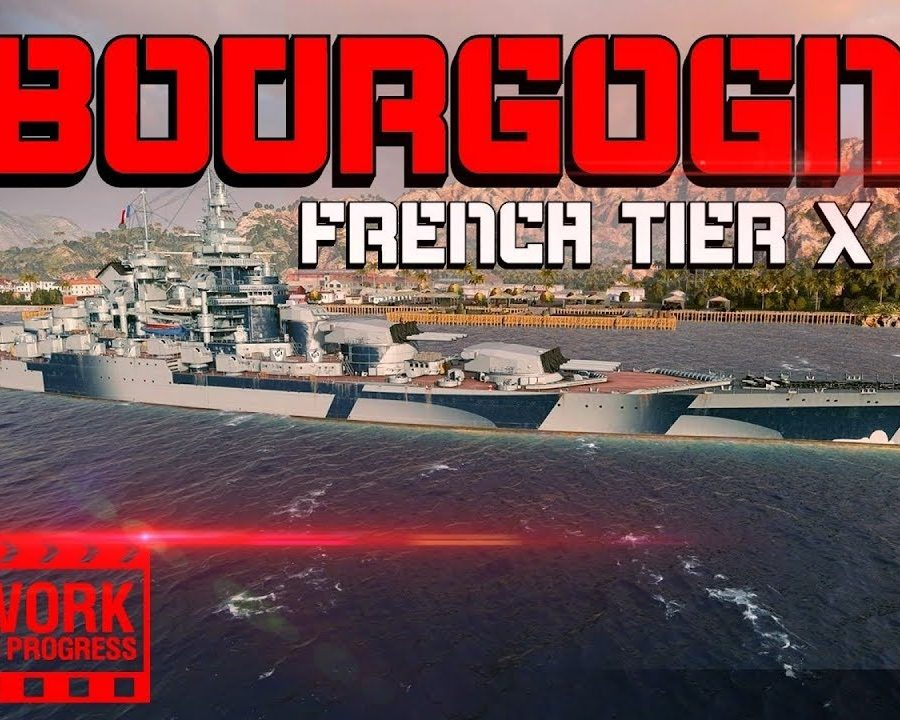 Bourgogne-NEW-TX-Battleship-first-GAMEPLAY-Stats-World-of