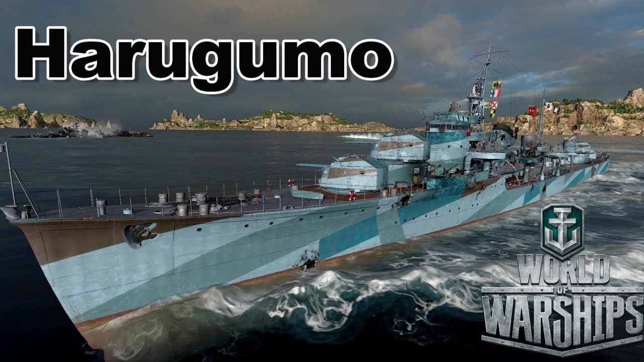 world of warships  harugumo unleashes a kraken