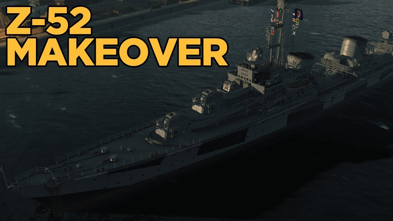 Making Z-52 A Better Destroyer - World of Warships