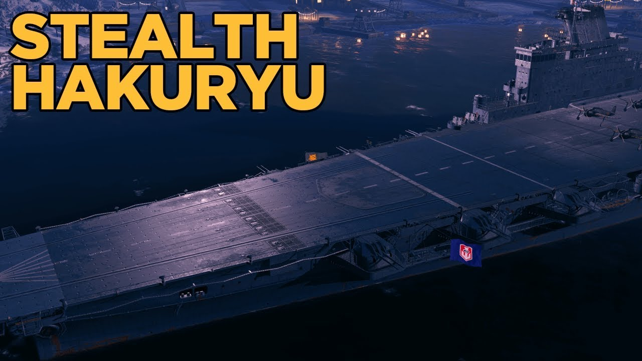 stealth hakuryu cv rework