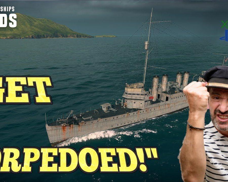 GET-TORPEDOED-World-of-Warships-Legends-Clemson-US-Destroyer