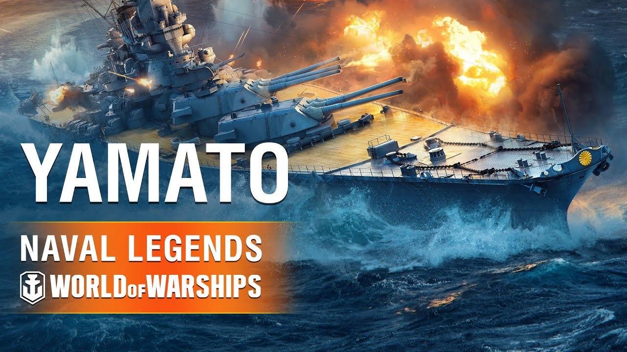 Naval Legends in World of Warships: Yamato