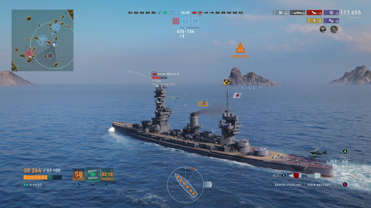 Meet The Fuso! Tier 5 Japanese Battleship! World of Warships