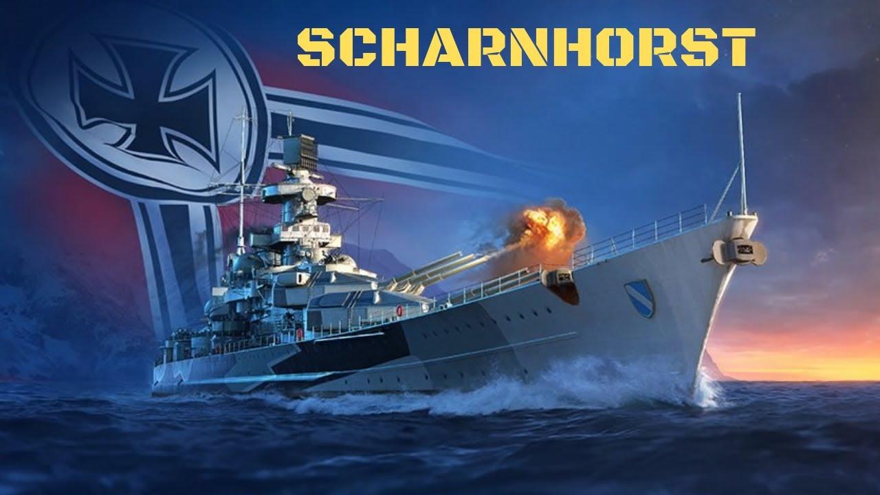 Scharnhorst Battleship   World of Warships Legends Console